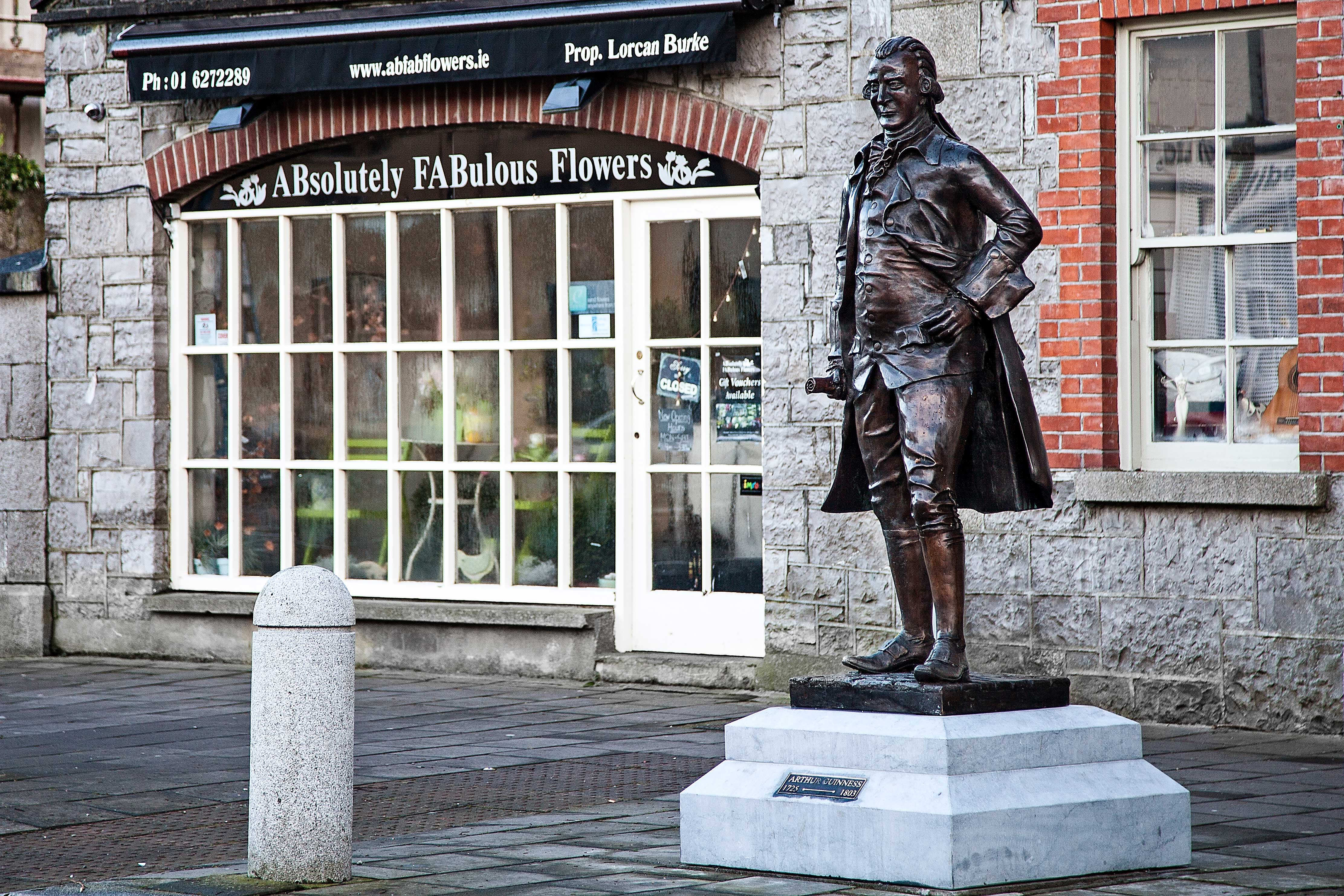 Statue of Arthur Guinness in Celbridge, Kildare