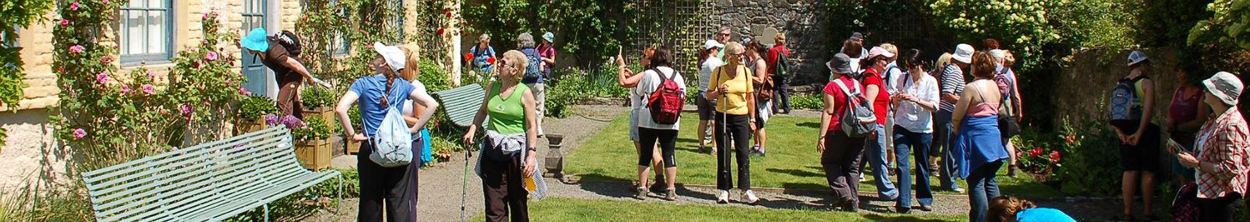 Tourists visiting Celbridge, Kildare